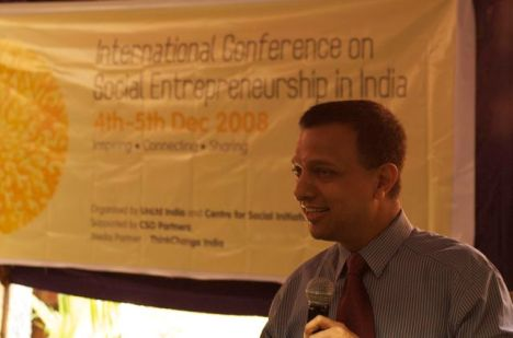 Nachiket Mor, President, ICICI Foundation [photo credit Sonia Rai]
