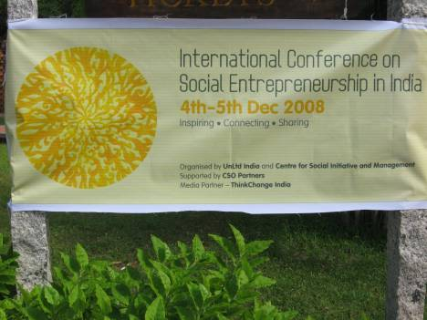 International Conference on Social Entrepreneurship in India Banner