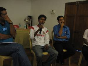 Anshu Gupta, Ashok Rathod, Anirban Gupta photo credit A Mishra